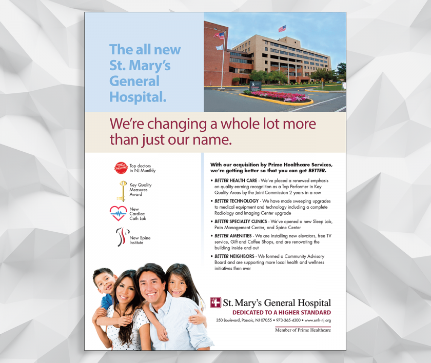St. Mary's General Hospital - Consumer Healthcare Ad