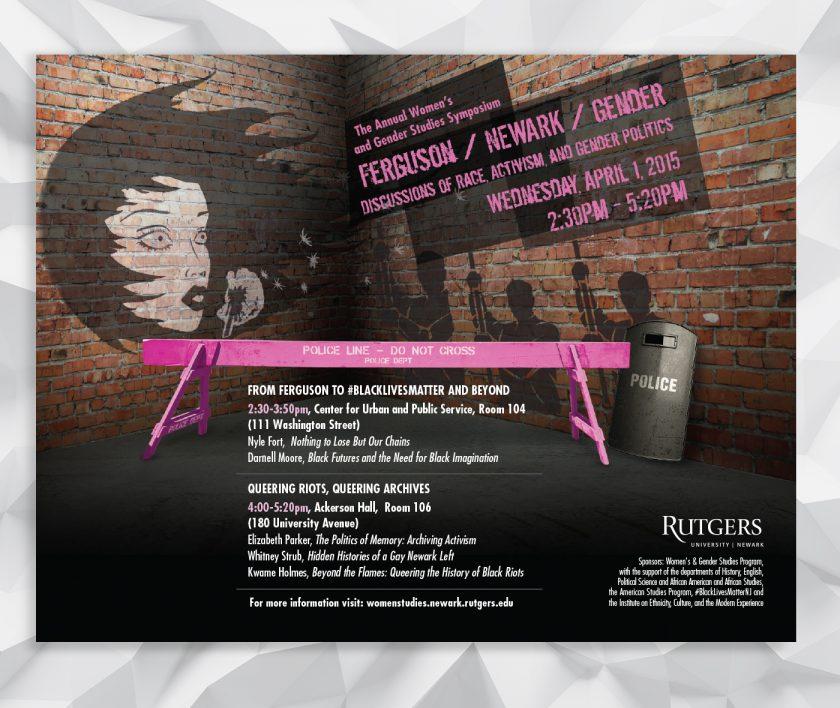 Rutgers-Newark: Annual Women's and Gender Studies Symposium